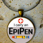 I Carry an Epipen - Bag Tag