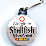 ALLERGIC TO SHELLFISH & EPIPEN
