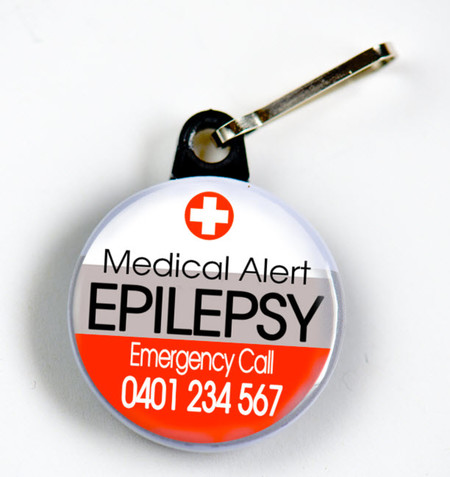EPILEPSY - with Emergency Contact Number
