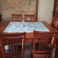 BUTTERFLY SQUARE TABLECLOTH