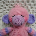 Monkey: READY TO POST, Crochet Toy,  Baby Gift, Girl Gift