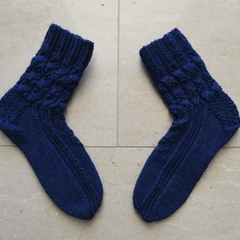 Royal Blue Socks