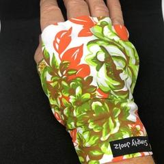 Sunglove: golf, lycra, sun protection, fingerless, palm free, Simply Joolz