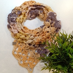 The Sunflower Cascade Scarf