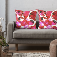Rose Petals Throw Cushion