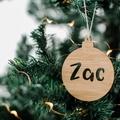 Personalised Christmas bauble, gift, Christmas tree decoration, christmas decora