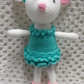 Mouse: FREE POSTAGE,  Crochet Toy,  Girl Gift, Made to Order