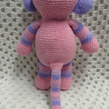 Monkey: FREE POSTAGE, Ready to Post, Crochet Toy,  Baby Gift, Girl Gift