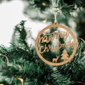 Christmas bauble, Merry Christmas Christmas bauble, Christmas tree decoration, c