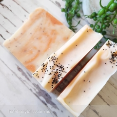 Vegan Poppyseed & Orange Handmade Soap