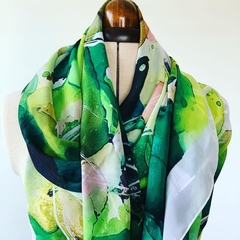 Gum Leaves Scarf