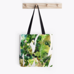 Gum Leaves Tote Bag