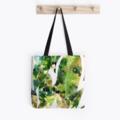 Gum Leaves Tote Bag