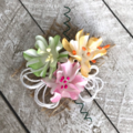 Azaleas (Summer) - Card Making Paper Flowers / Tags / Scrapbooking