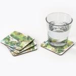 Gum Leaves Coasters