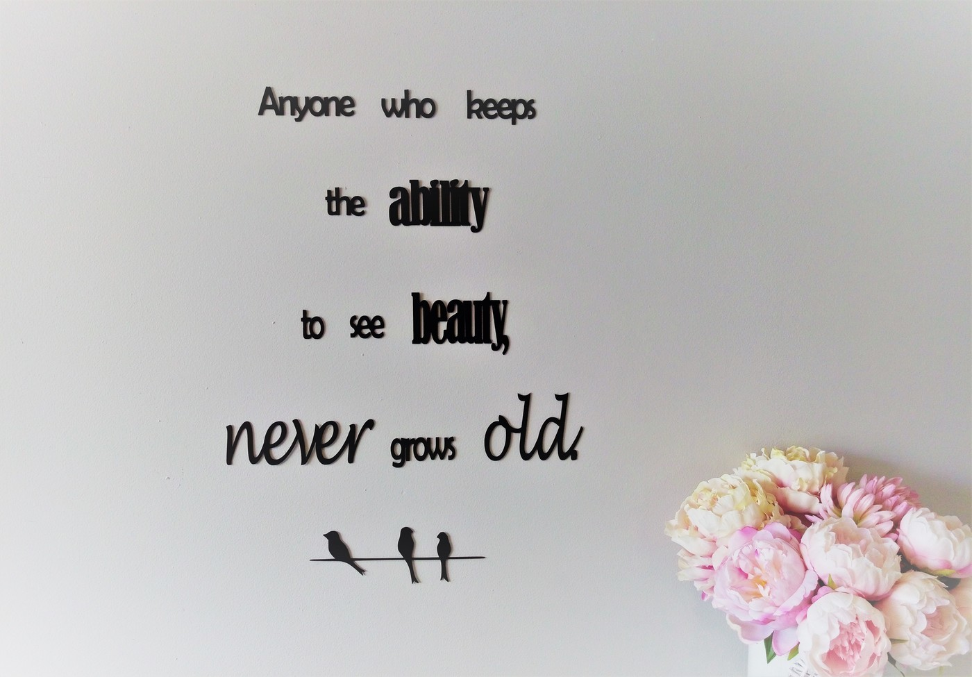 never grows old quote wall sign quietwatersart on madeit