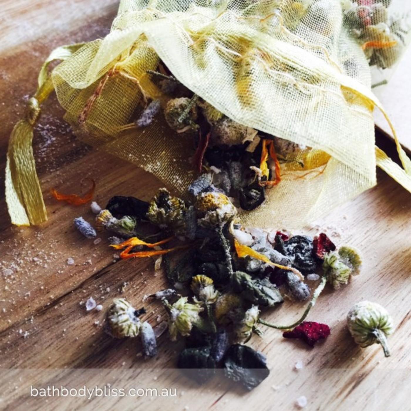 Tub Tea Bath Soak Salts 1 Bath Pk With Lavender