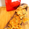 Sesame, Pistachio & Candied Orange Brittle