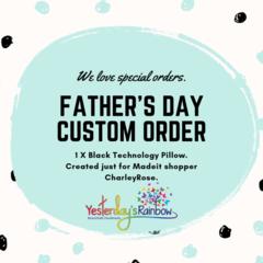 Custom Order for customer CharleyRose.
