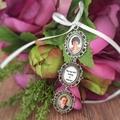 Memory Charm for Bridal Bouquet, Wedding Keepsake Photo Charm
