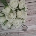 Wedding Bouquet Photo Charm, In Memory Photo Locket, Remembrance Gift