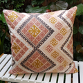 Geometric Pattern Cushion with 100% Recycled Insert