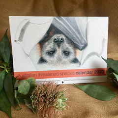 2020 Calendar Australian threatened species - A4 wall calendar Christmas gift