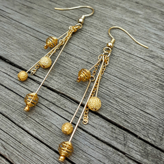 Golden Trinket Earrings