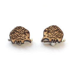 Cufflinks - animal cufflinks - Wood Cufflinks - Australian cufflinks - 5 year an