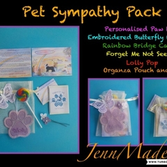 Pet Sympathy Packs