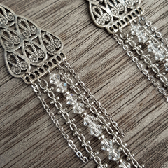 Elegant Chandelier Crystal earrings
