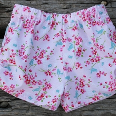 Girls Ruched Shorts with Ribbon Bow Ties Size 3