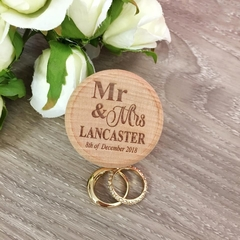 Wedding Ring Box, Ring Box, Rustic Ring Box, Personalised Ring Box, Wood RingBox