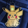 """Pikachu"" Key Fob/Zipper Pull"