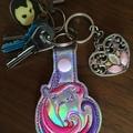 """""""Unicorn"""" Key Fob/Zipper Pull"""
