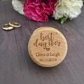 Wedding Ring Box, Ring Box, Rustic Ring Box, Personalised Ring Box, Wood RingBox