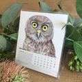 2020 Desk Calendar Australian  threatened species - animals birds wildlife