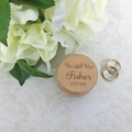 Laser Engraved Ring Box, Personalised Wedding Ring Box, Engagement Gift