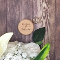 Ring Box for Wedding, Wooden Ring Box Personalised Jewellery Box, Gift for Bride