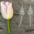 Elegant Chandelier Crystal earrings