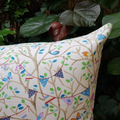 Tree Tops Garland Pillow with 100% Recycled Insert