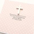 Handmade Religious Personalised Card Christening Baptism Communion Confirmation