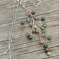 Colourful Jasper Stone Necklace