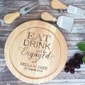 Personalised Cheese Board, Custom Cutting Board, Housewarming Gift