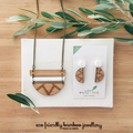 Jewellery gift set - gift for giftfriend - necklace and earring set - eco jewell