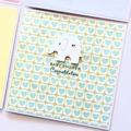 Handmade Baby Shower Card, Baby Card, Newborn Baby Card, Gender Neutral Card