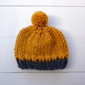 Chunky Knit Baby Hat