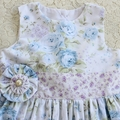 Girls Shabby Roses Party Dress  Size 3