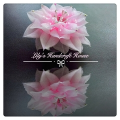 Stunning lotus hairclip