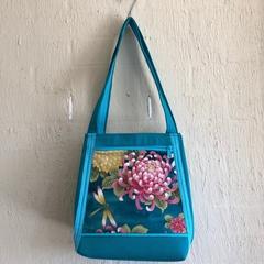 Turquoise pond Handmade Womens Handbag